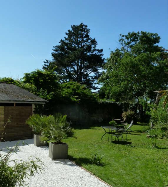 Photo jardin gîte