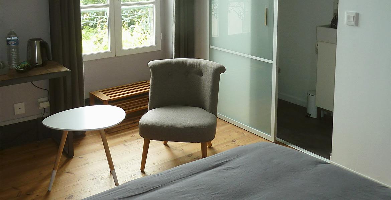 Salon maison d'hôtes à Groix