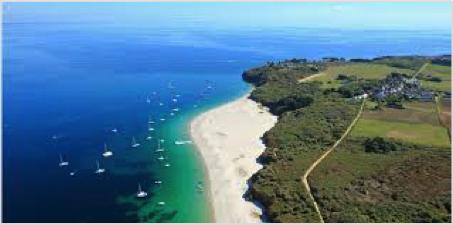 plage île de groix